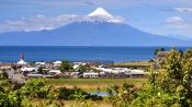 TOUR  TO THE BORDER OF LLANQUIHUE LAKE & OSORNO VOLCANO, Puerto Varas, CHILE