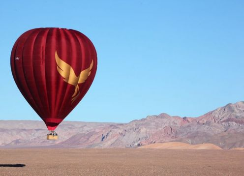 An unforgettable overflight around San Pedro de Atacama, flying in a Balloon for 40 minutes